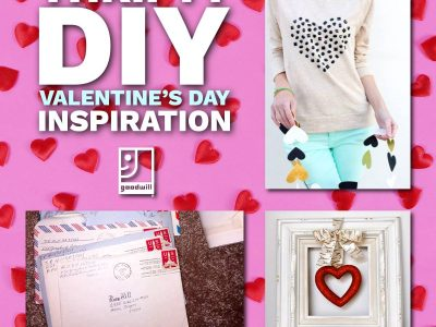plan your diy valentine's day with goodwill blog