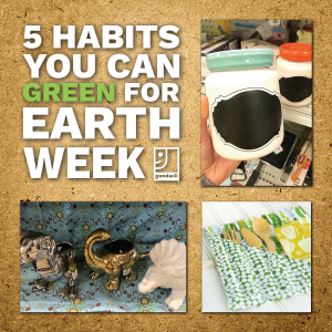 5 habits you can green for earth week blog