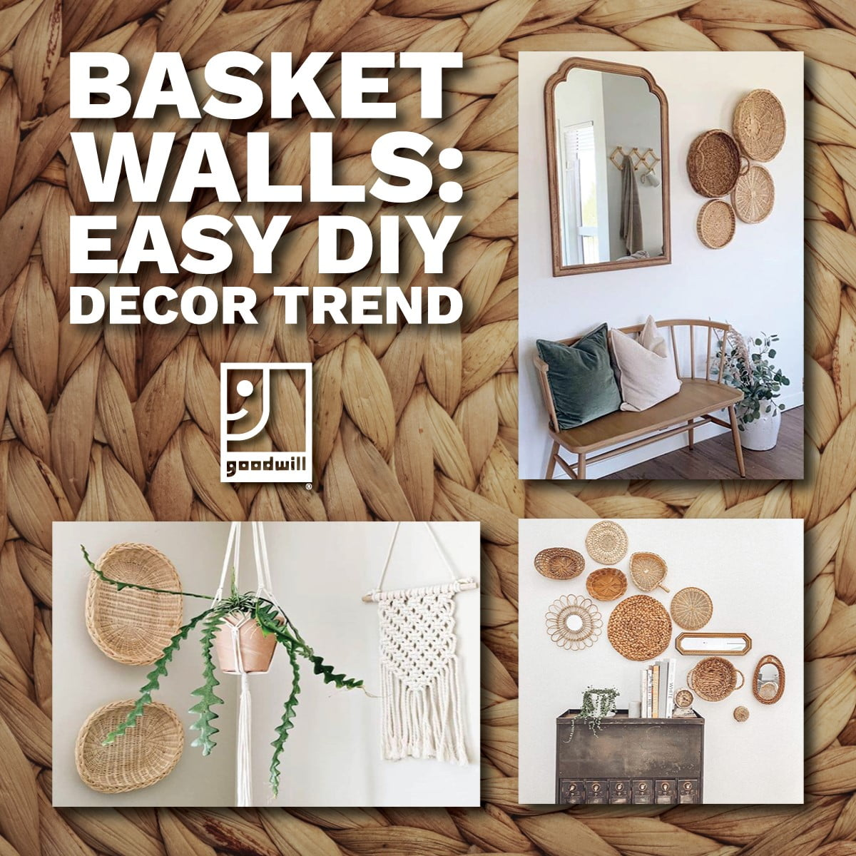 DIY basket wall decor blog post