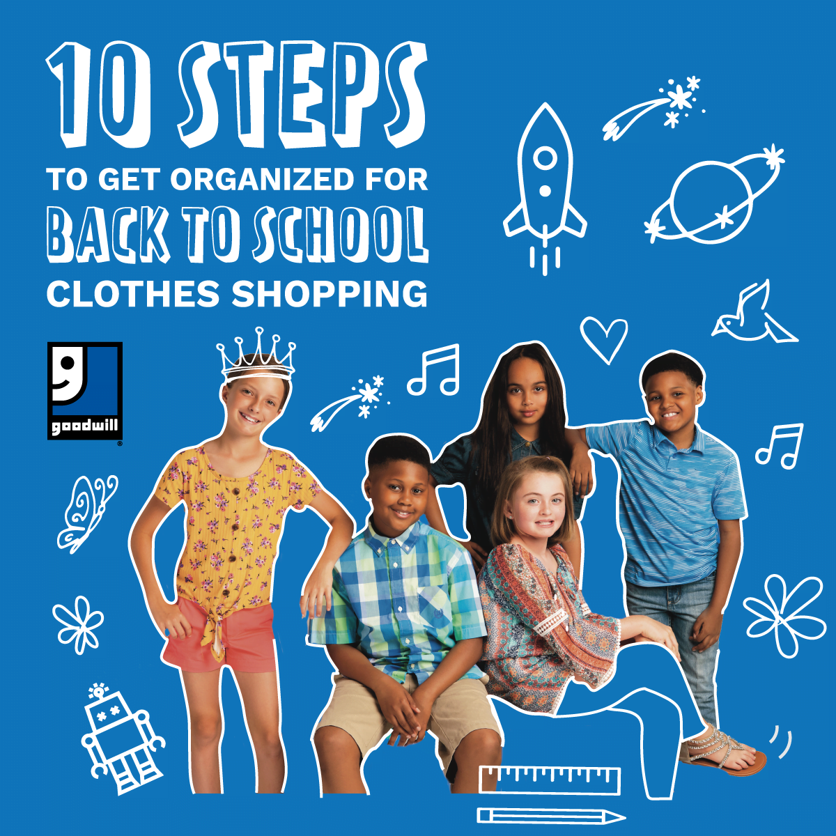 Clothes Shopping Back to School