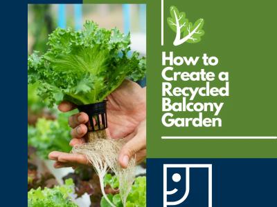 Recycled Balcony Garden