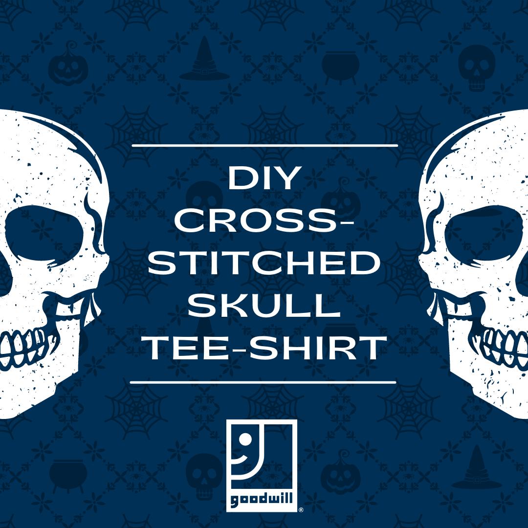 DIY Skull T-Shirt